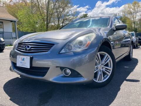 2012 Infiniti G37 Sedan for sale at Mega Motors in West Bridgewater MA
