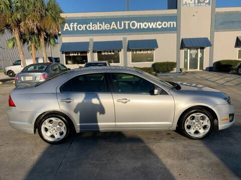 2010 Ford Fusion for sale at Affordable Autos in Houma LA