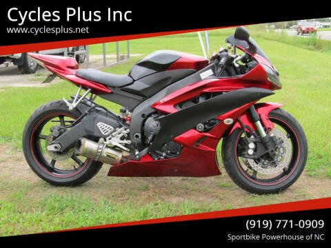 2006 Yamaha YZF-R6 for sale at Cycles Plus Inc in Garner NC