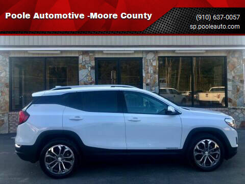 2019 GMC Terrain for sale at Poole Automotive -Moore County in Aberdeen NC