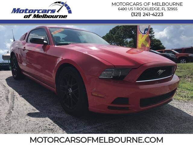 2014 Ford Mustang for sale at Motorcars of Melbourne in Rockledge FL