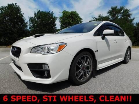 2015 Subaru WRX for sale at Redline Performance group LLC in Douglasville GA