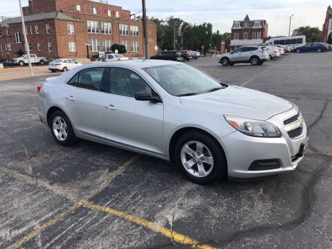 2013 Chevrolet Malibu for sale at DC Auto Sales Inc in Saint Louis MO