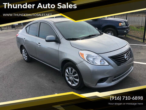2014 Nissan Versa for sale at Thunder Auto Sales in Sacramento CA