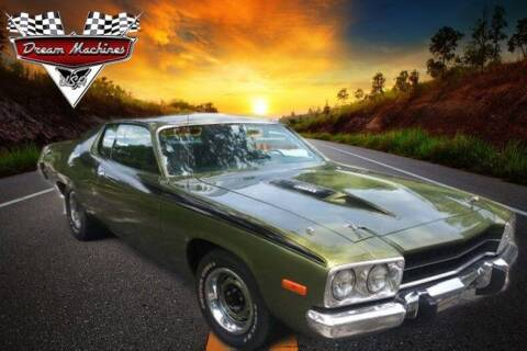 1974 Plymouth Roadrunner for sale at Dream Machines USA in Lantana FL