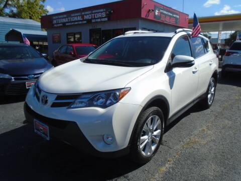 2013 Toyota RAV4 for sale at International Motors in Laurel MD