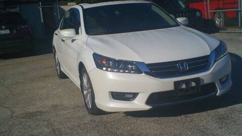 2015 Honda Accord for sale at Global Vehicles,Inc in Irving TX