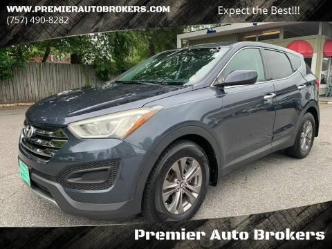 2013 Hyundai Santa Fe Sport for sale at Premier Auto Brokers in Virginia Beach VA