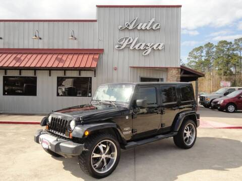 2013 Jeep Wrangler Unlimited for sale at Grantz Auto Plaza LLC in Lumberton TX