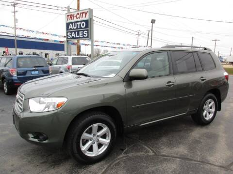 2008 Toyota Highlander for sale at TRI CITY AUTO SALES LLC in Menasha WI