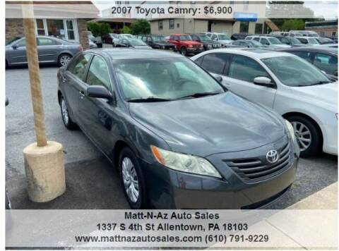 2007 Toyota Camry for sale at Berk Motor Co in Whitehall PA