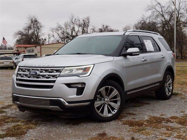 2018 Ford Explorer for sale at Bryans Car Corner in Chickasha OK