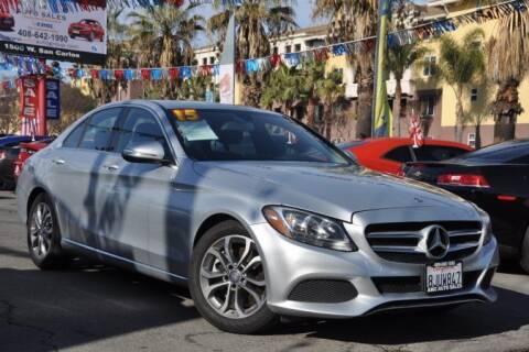2015 Mercedes-Benz C-Class for sale at AMC Auto Sales, Inc in San Jose CA