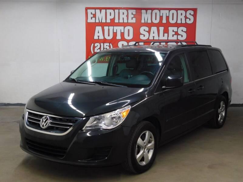 2012 Volkswagen Routan for sale at EMPIRE MOTORS AUTO SALES in Philadelphia PA