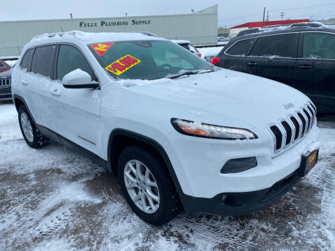 2014 Jeep Cherokee for sale at Top Line Auto Sales in Idaho Falls ID
