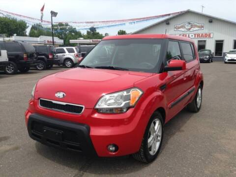 2010 Kia Soul for sale at Steves Auto Sales in Cambridge MN