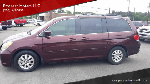 2008 Honda Odyssey for sale at Prospect Motors LLC in Adamsville AL