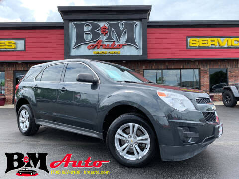2012 Chevrolet Equinox for sale at B & M Auto Sales Inc. in Oak Forest IL