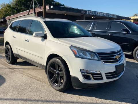 2015 Chevrolet Traverse for sale at Texas Luxury Auto in Houston TX