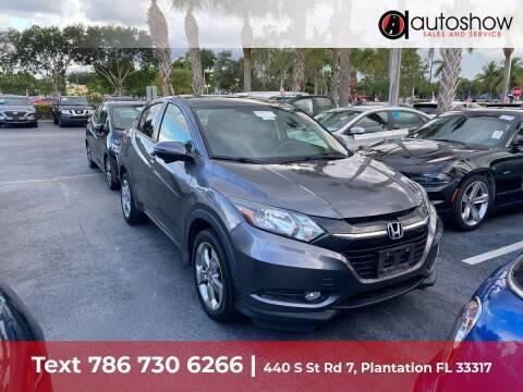 2017 Honda HR-V for sale at AUTOSHOW SALES & SERVICE in Plantation FL