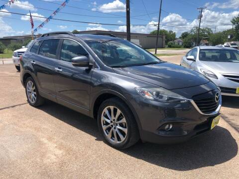 2015 Mazda CX-9 for sale at Rock Motors LLC in Victoria TX