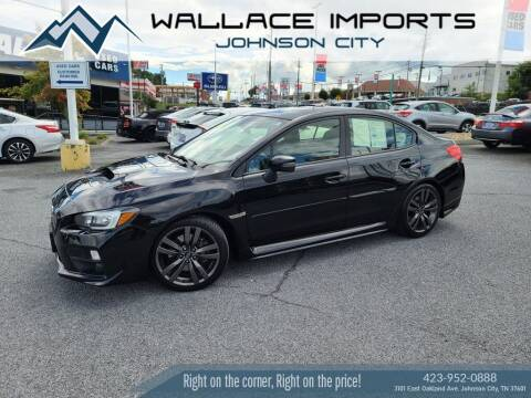 2017 Subaru WRX for sale at WALLACE IMPORTS OF JOHNSON CITY in Johnson City TN