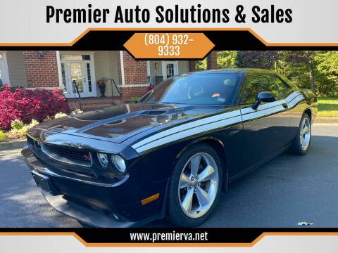 2014 Dodge Challenger for sale at Premier Auto Solutions & Sales in Quinton VA