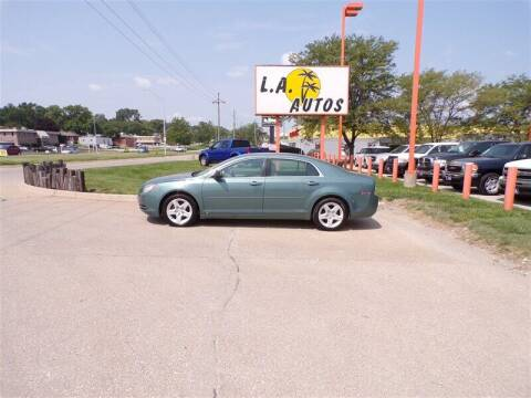 2009 Chevrolet Malibu for sale at L A AUTOS in Omaha NE
