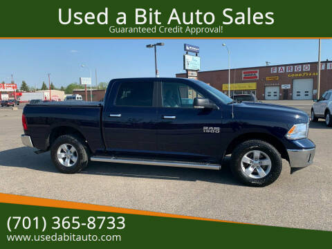 2017 RAM Ram Pickup 1500 for sale at Used a Bit Auto Sales in Fargo ND