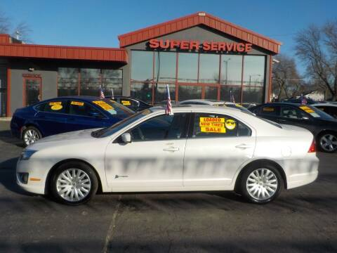 2011 Ford Fusion Hybrid for sale at Super Service Used Cars in Milwaukee WI