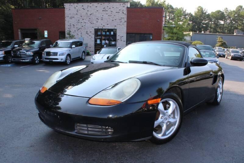 2002 Porsche Boxster for sale at Atlanta Unique Auto Sales in Norcross GA