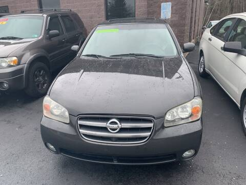 2002 Nissan Maxima for sale at 924 Auto Corp in Sheppton PA