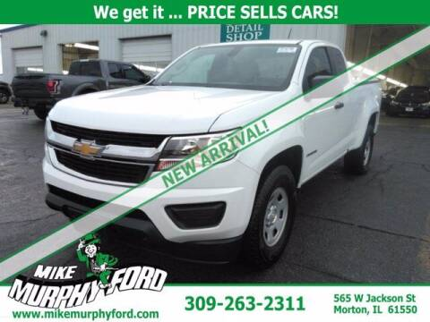 2018 Chevrolet Colorado for sale at Mike Murphy Ford in Morton IL