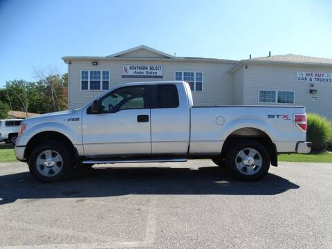 2010 Ford F-150 for sale at SOUTHERN SELECT AUTO SALES in Medina OH