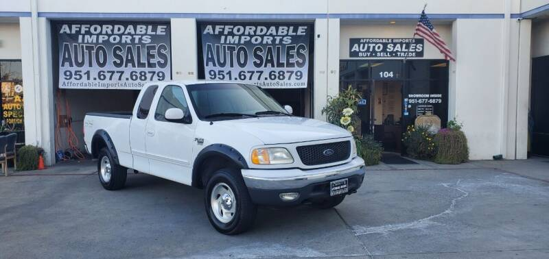 2000 Ford F-150 for sale at Affordable Imports Auto Sales in Murrieta CA