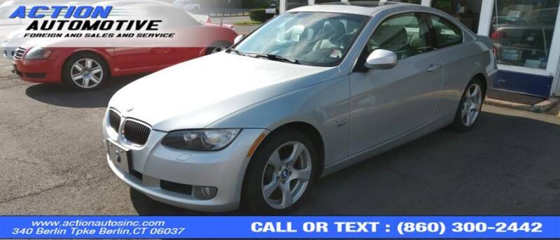 2010 BMW 3 Series for sale at Action Automotive Inc in Berlin CT