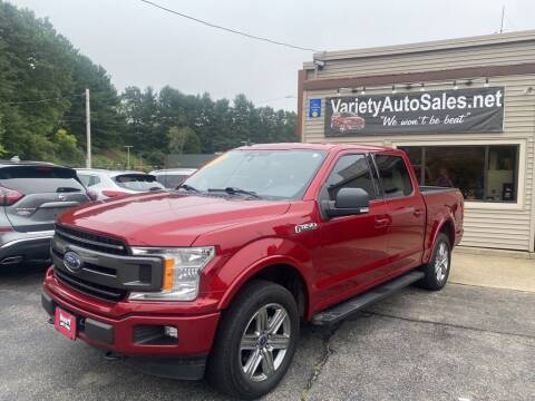 2019 Ford F-150 for sale at Variety Auto Sales in Worcester MA