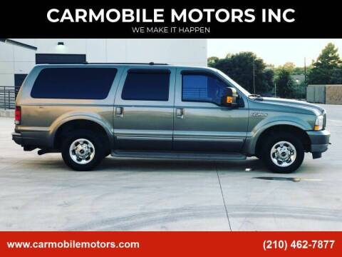 2004 Ford Excursion for sale at CARMOBILE MOTORS INC in San Antonio TX