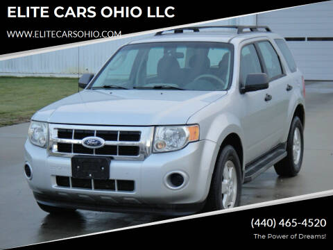 2009 Ford Escape for sale at ELITE CARS OHIO LLC in Solon OH