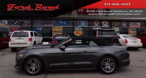 2017 Ford Mustang for sale at Ford Road Motor Sales in Dearborn MI
