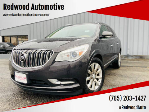 2015 Buick Enclave for sale at Redwood Automotive in Anderson IN