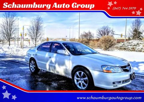 2002 Acura TL for sale at Schaumburg Auto Group in Schaumburg IL