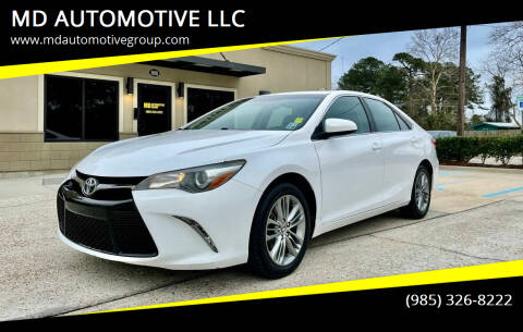 2015 Toyota Camry for sale at MD AUTOMOTIVE LLC in Slidell LA