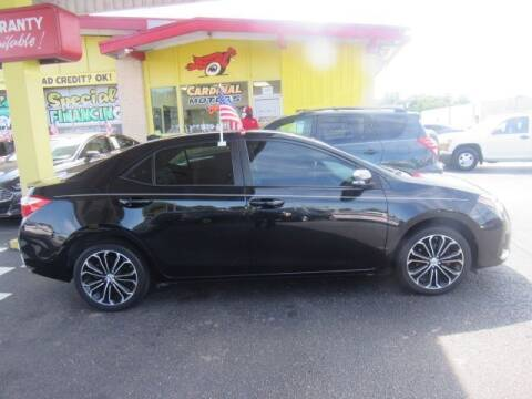 2016 Toyota Corolla for sale at Cardinal Motors in Fairfield OH