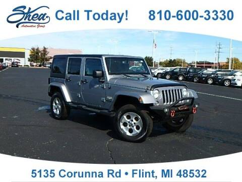 2014 Jeep Wrangler Unlimited for sale at Jamie Sells Cars 810 - Linden Location in Flint MI