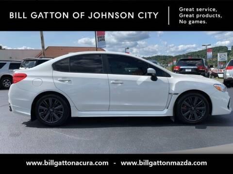 2019 Subaru WRX for sale at Bill Gatton Used Cars - BILL GATTON ACURA MAZDA in Johnson City TN
