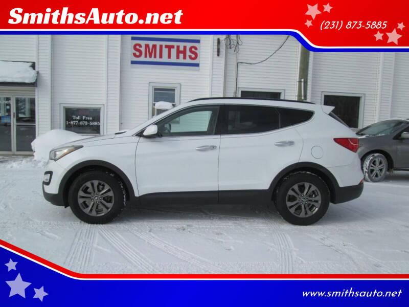 2013 Hyundai Santa Fe Sport for sale at SmithsAuto.net in Hart MI