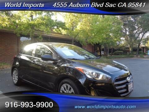 2016 Hyundai Elantra GT for sale at World Imports in Sacramento CA