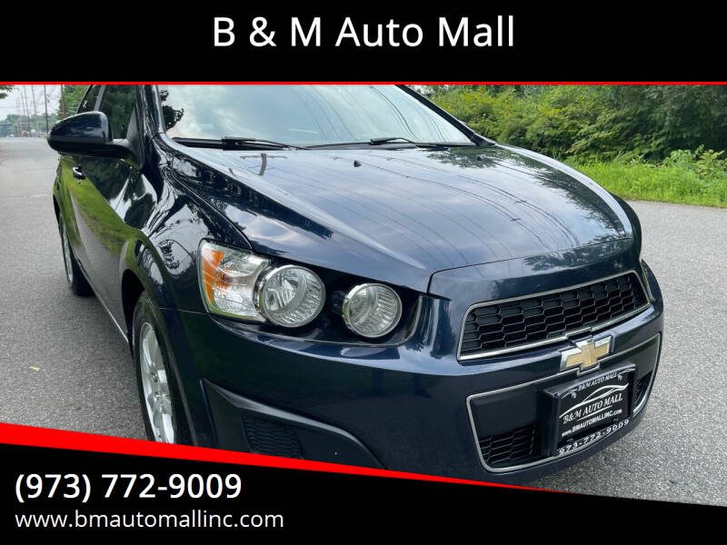 2015 Chevrolet Sonic for sale at B & M Auto Mall in Clifton NJ