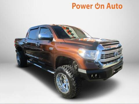 2014 Toyota Tundra for sale at Power On Auto LLC in Monroe NC